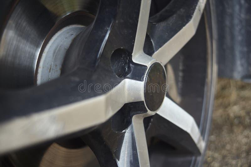 La rueda de los deportes para mi coche imagen de archivo