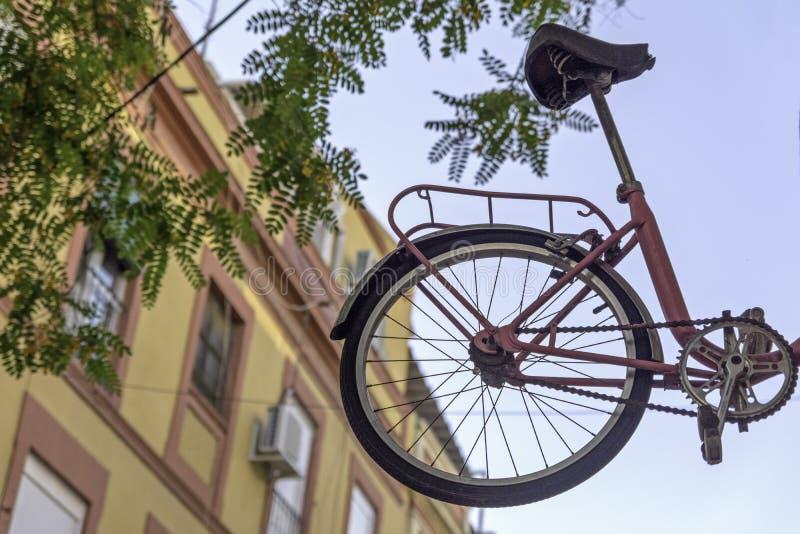 La rueda está en el aire foto de archivo