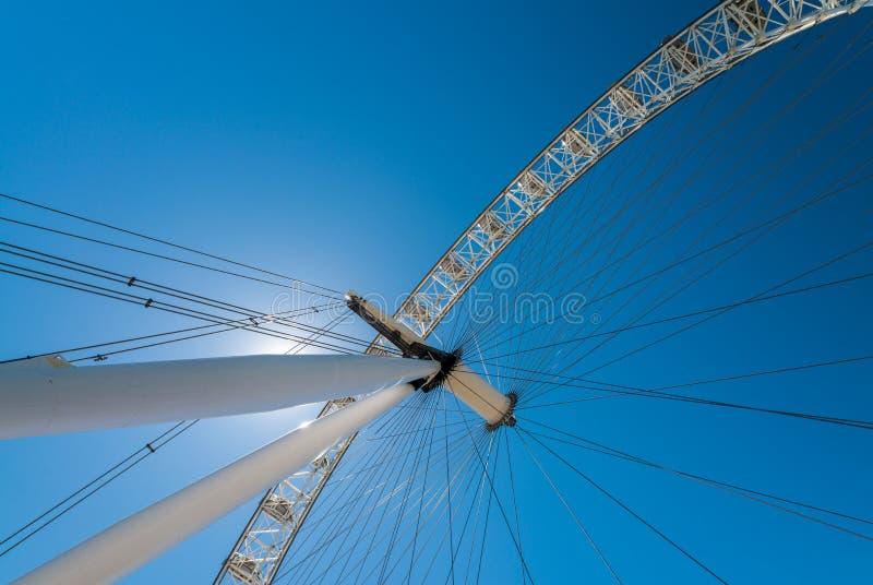 Download La Ruota Dell'occhio Di Londra Sulla Banca Del Sud Del Tamigi, Londra, Uni Immagine Editoriale - Immagine di osservare, corsa: 56887490