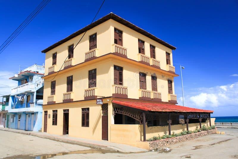 La Rusa, Baracoa, Cuba van het hotel stock foto's
