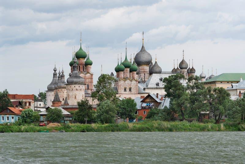 La Russia. Città di Rostov il grande. Rostov Kremlin immagine stock libera da diritti