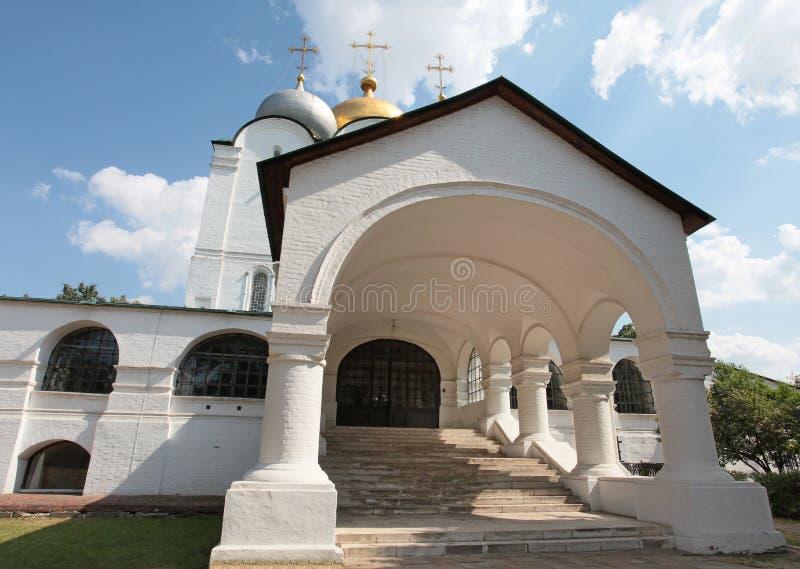 La Russia Convento di Novodevichiy fotografia stock