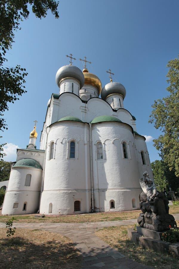 La Russia Convento di Novodevichiy immagine stock libera da diritti