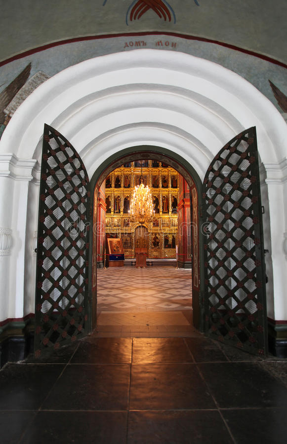 La Russia Convento di Novodevichiy immagini stock