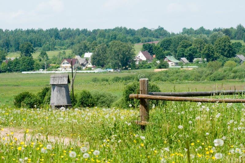 La Russia. Regione di Pskov. fotografia stock libera da diritti