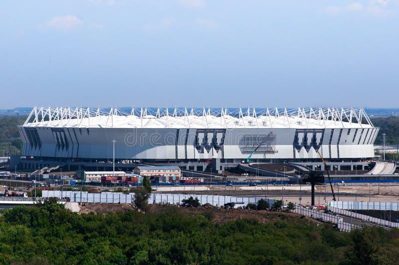 La Russia, Rostov-On-Don - 20 marzo 2017: Arena di Rostov dello stadio di football americano Lo stadio per la coppa del Mondo 201 fotografia stock