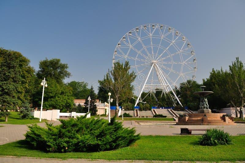 La Russia Rostov-On-Don Parco di Gorkij immagine stock libera da diritti