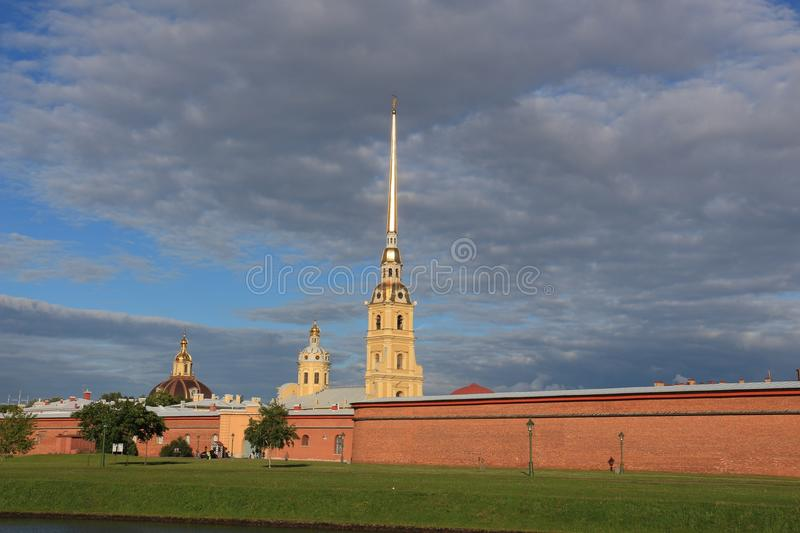La Russia, StPetersburg, Peter e Paul Fortress immagini stock