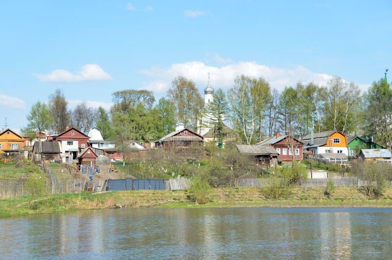La Russie, anneau d'or, ville d'Alexandrov dans le rigion de Vladimir photographie stock