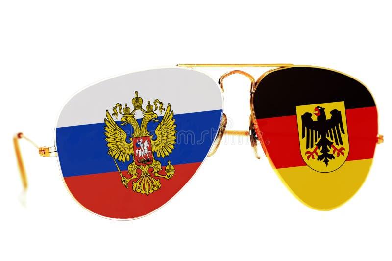 La Russie et l'Allemagne images libres de droits
