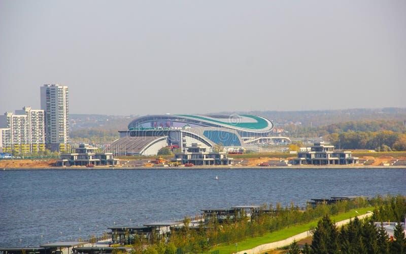 La Russie, Kazan : Stade d'arène de Kazan Coupe du monde 2018 de la FIFA de lieu de rendez-vous RU photo stock