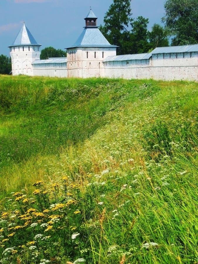 La Russie, monastère de Spaso-Prilutskiy dans Vologda images libres de droits