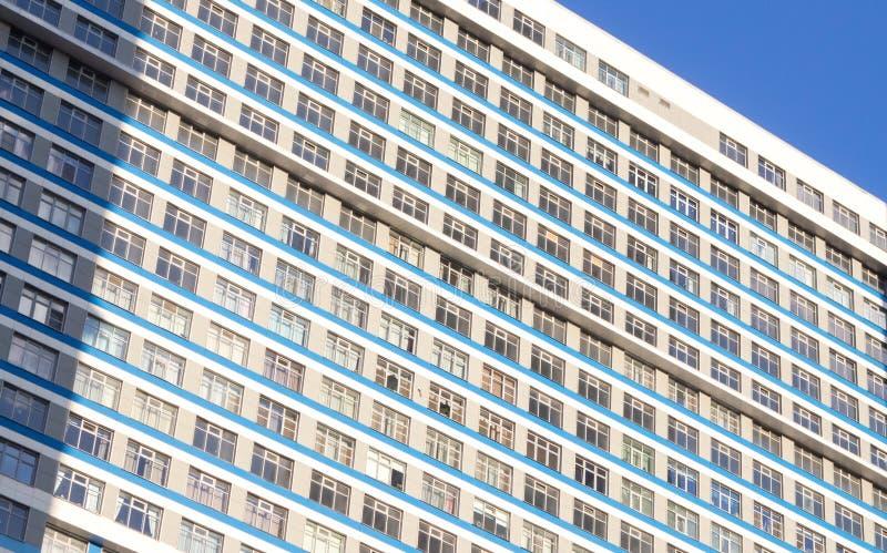 La Russie, Moscou, bâtiment résidentiel ayant beaucoup d'étages photos libres de droits