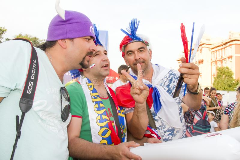La RUSSIE, ROSTOV-ON-DON - juin, images stock