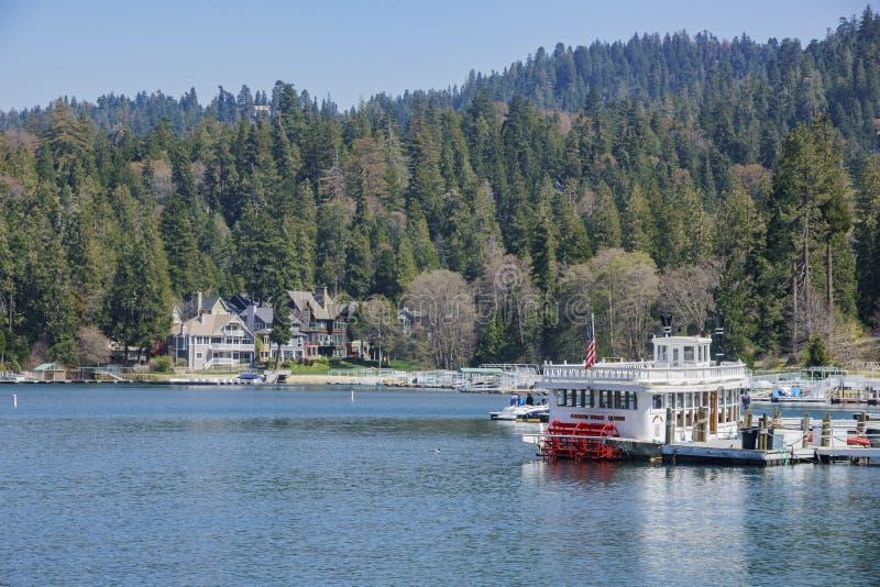 La sagittaria famosa del lago fotografie stock libere da diritti