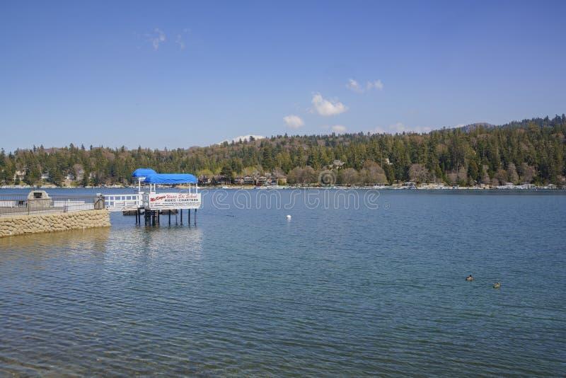 La sagittaria famosa del lago immagine stock libera da diritti