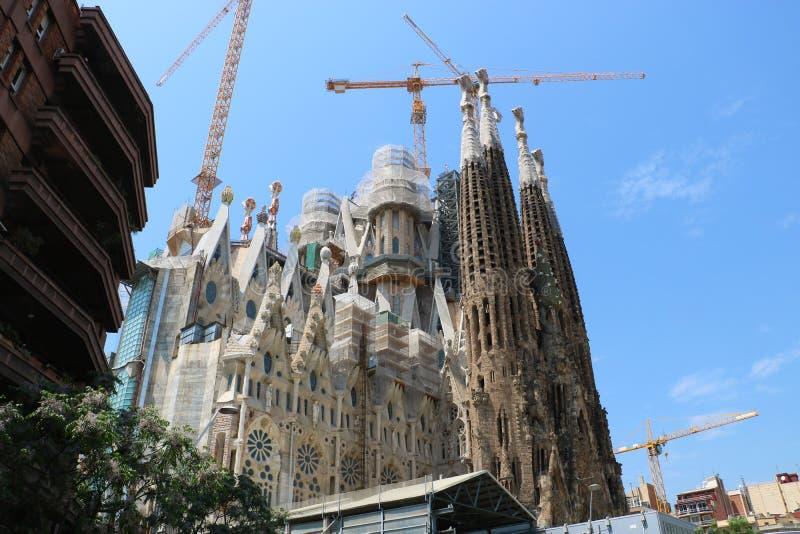 La Sagrada Familia stock foto