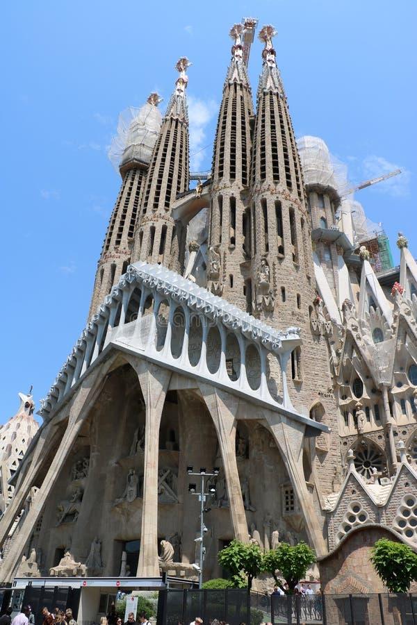 La Sagrada Familia royalty-vrije stock foto's
