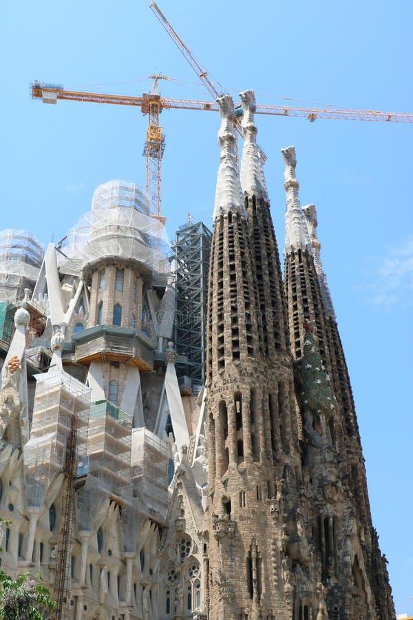La Sagrada Familia royalty-vrije stock foto