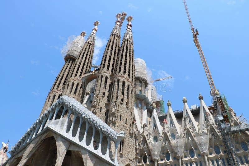 La Sagrada Familia stock fotografie