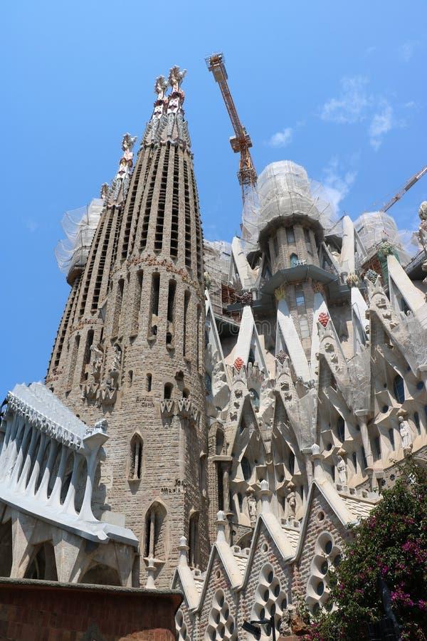 La Sagrada Familia stock foto's