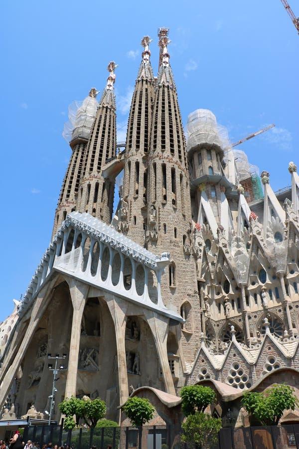 La Sagrada Familia royalty-vrije stock afbeelding