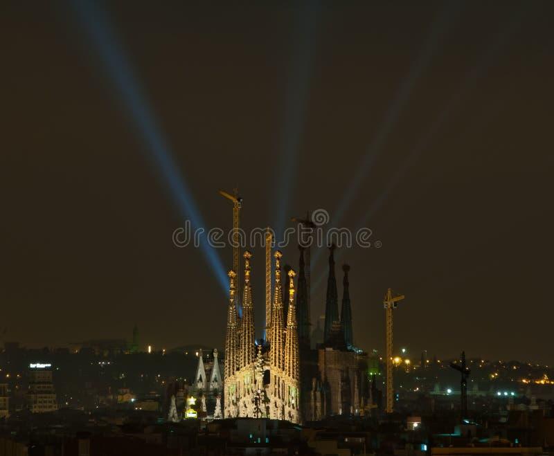 La Sagrada Familia foto de archivo