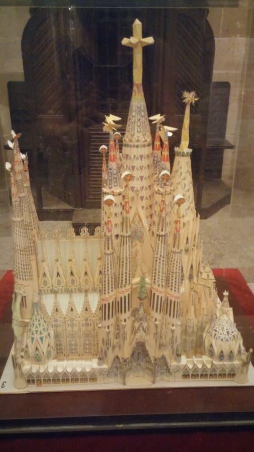 La Sagrada Familia stockfoto
