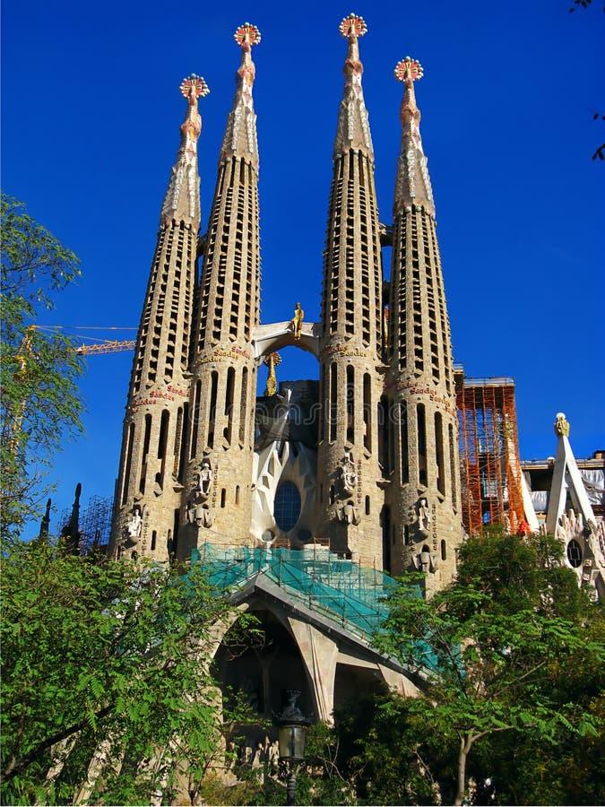 La Sagrada Familia fotografia stock libera da diritti