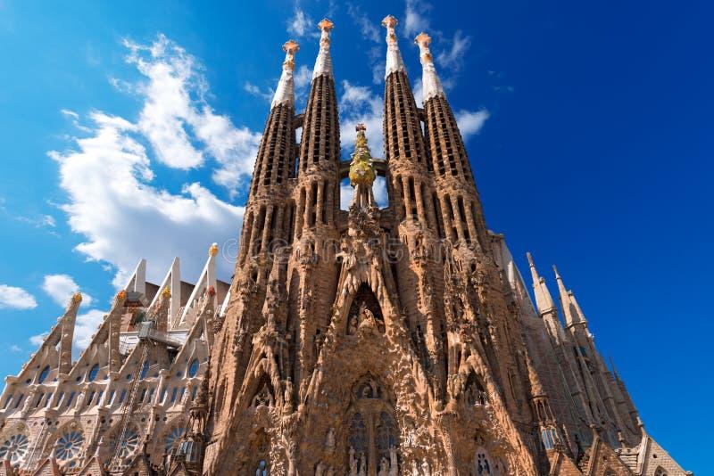 La Sagrada Familia - Barcelona España de Expiatori del templo foto de archivo libre de regalías