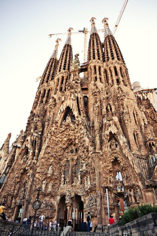 La sagrada familia in barcelona spain editorial image for La sagrada familia spain