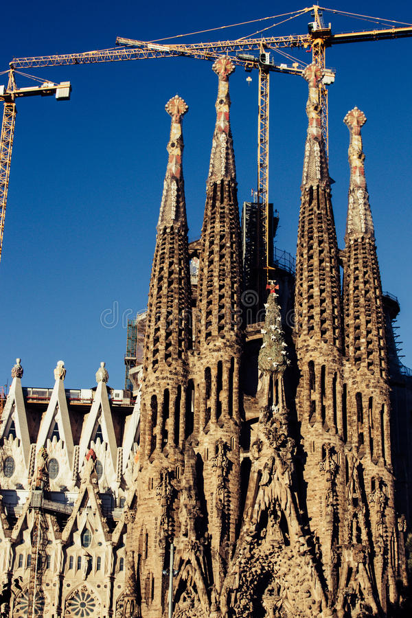Download La Sagrada Familia In Barcelona Editorial Photography - Image: 83723427