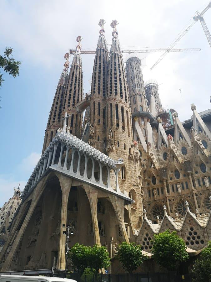 La Sagrada Familia imagen de archivo