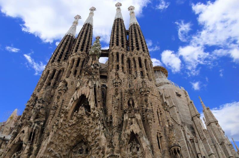 La Sagrada Familia stock photography