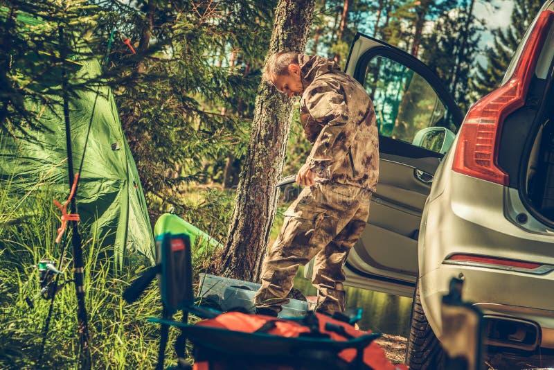 La saison de chasse est allumée photos stock