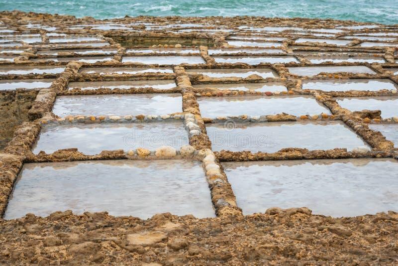 La sal critica Gozo imagen de archivo