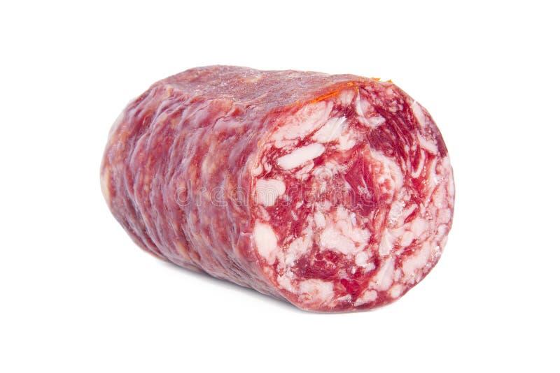 La salchicha de la carne aisló imagenes de archivo