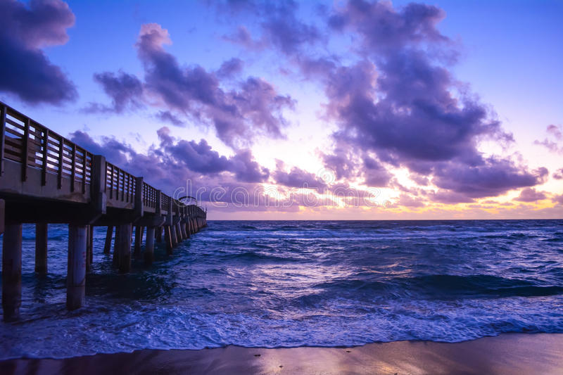 La salida del sol de Floridafotos de archivo libres de regalías