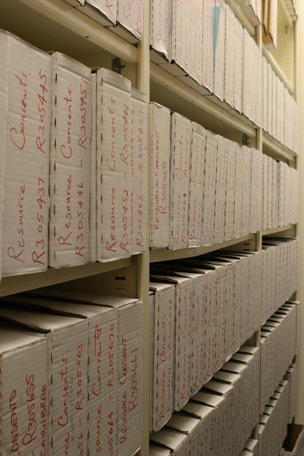 La salle d'enregistrements image stock