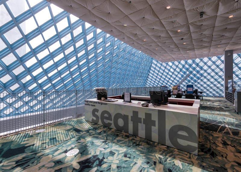 La salle de Seattle image stock