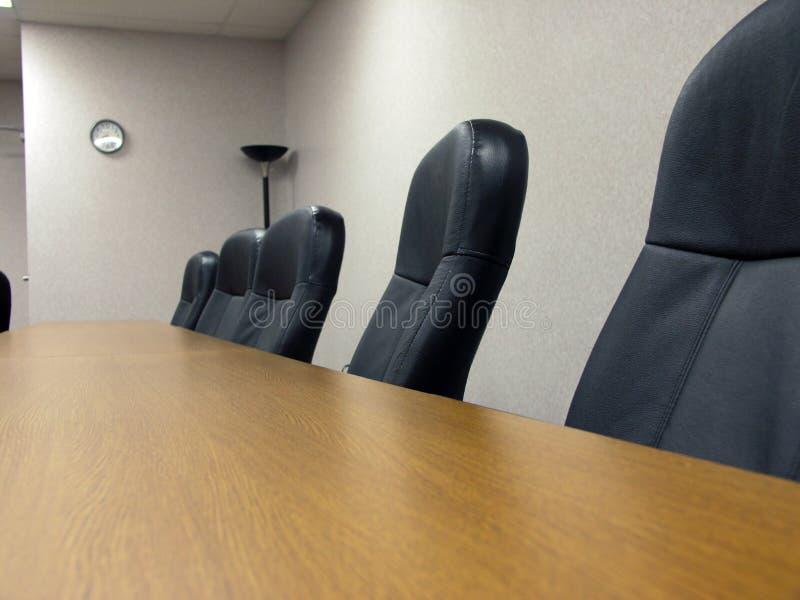 La salle du conseil d'administration photographie stock libre de droits