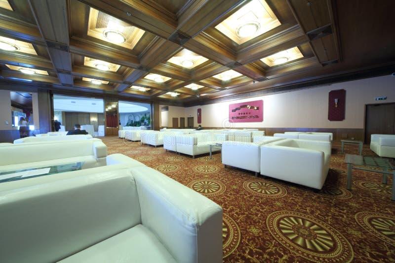 La salle intérieure dans le Président Hotel photos stock