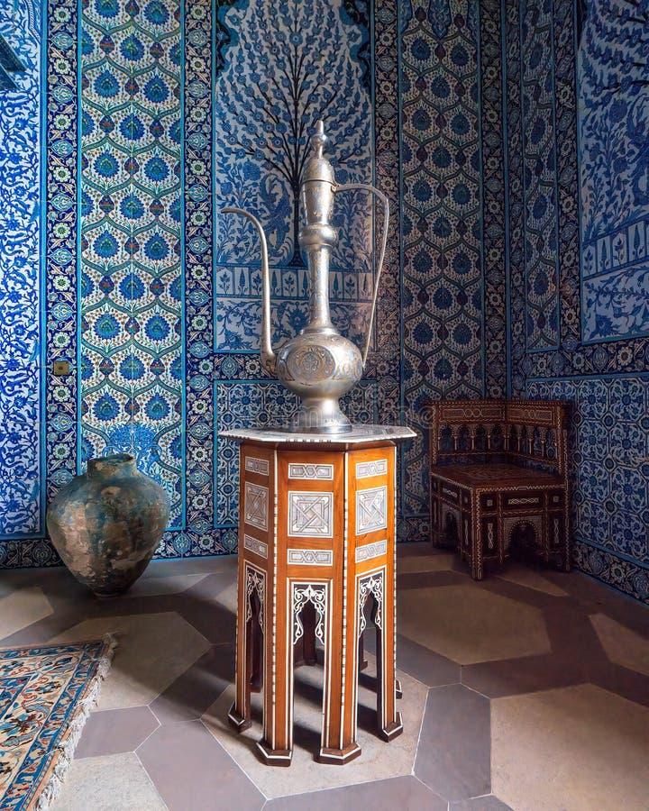 La salle turque, Chambre de Sledmere, Yorkshire, photos stock