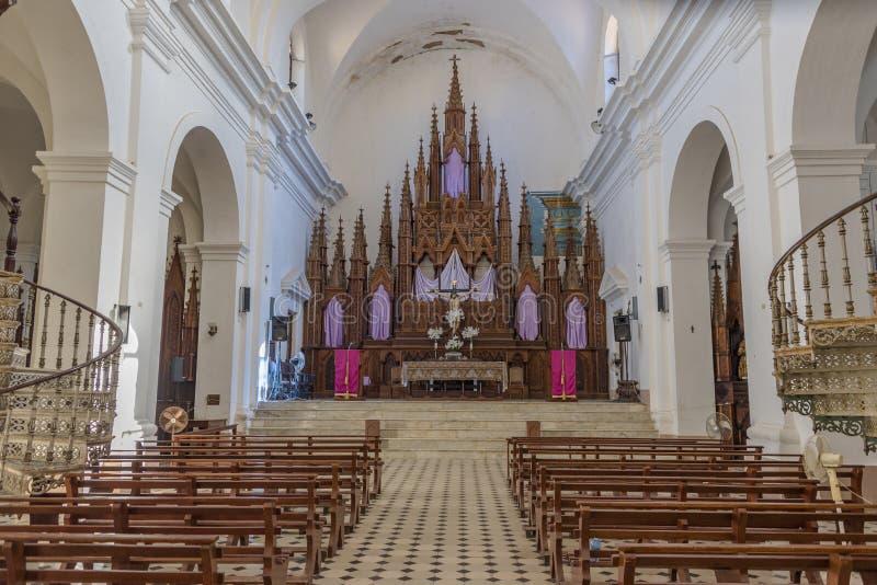 La Santisima d'Iglesia de Parroquial De au Trinidad, Cuba image libre de droits