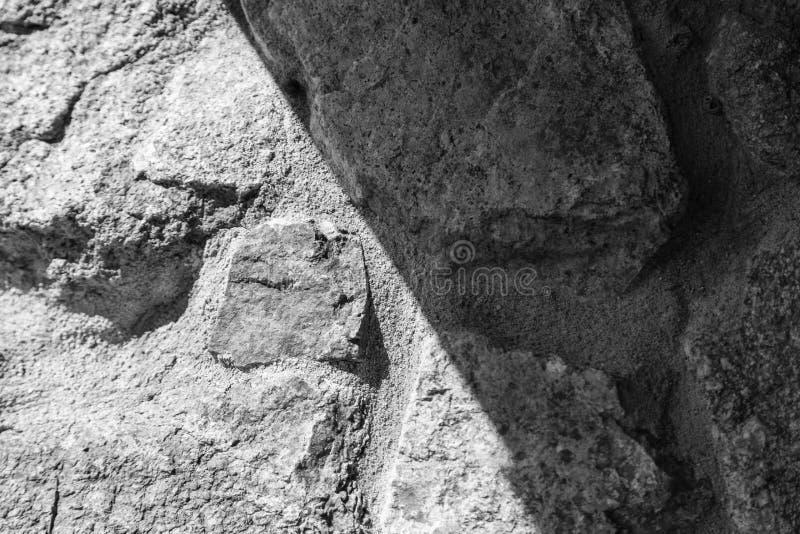 La Sardaigne, Italie - texture du mur image libre de droits