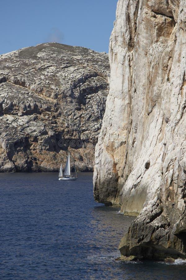 La Sardegna immagine stock