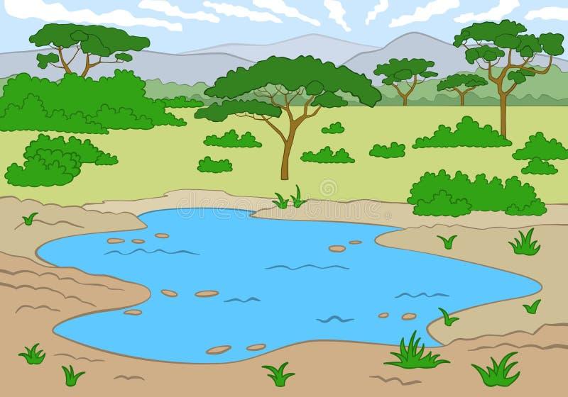 La savane illustration de vecteur