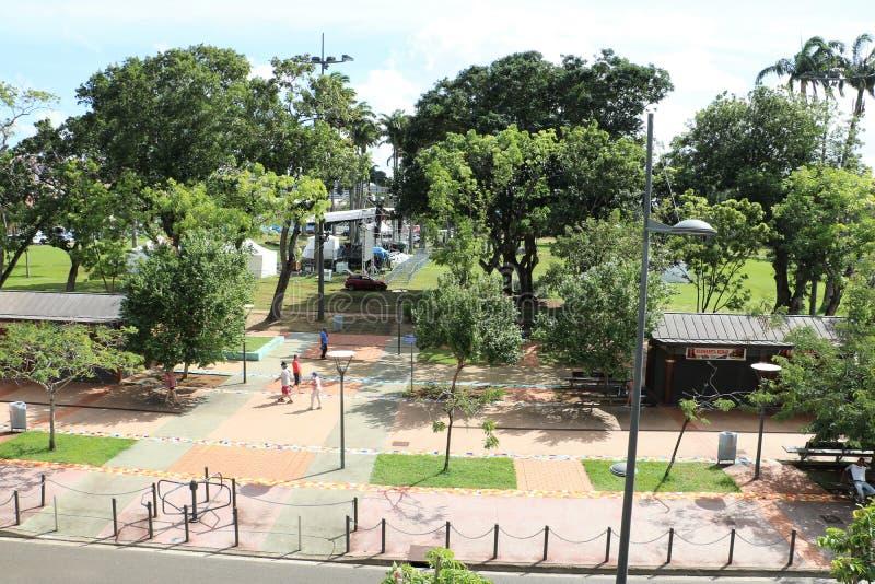 La Savane, Fort de France, Martinique royalty-vrije stock foto's