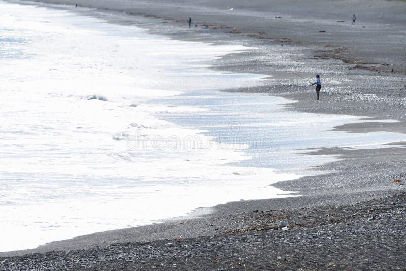 La scène de la côte photo stock