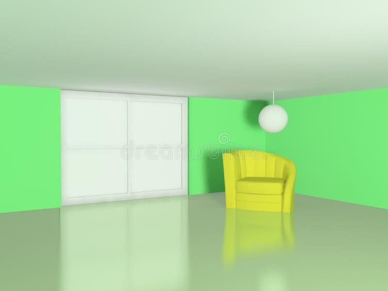 La scène intérieure illustration de vecteur